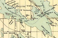 Detail of Marshall 1894 Map