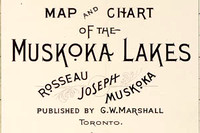 Title Block of Marshall 1894 Map