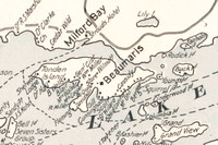 Detail of CNOR 1907 Map